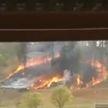 В Бразилии упал самолет. Семь человек погибли