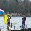 У Комсомольского озера в Минске отметили День здоровья забегом и заплывом