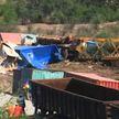 13 вагонов из-за технической неисправности сошли с рельсов в Мексике