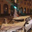 В Минске водитель-бесправник совершил столкновение с мотоциклистом