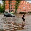 Непогода накрыла Москву и Тверь