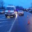 ДТП в Минске: женщина пересекала дорогу вне пешеходного перехода и попала под колёса машины