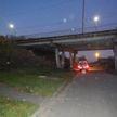 В Могилеве 10-летний ребёнок застрял под мостом через Днепр: мальчика спасли сотрудники МЧС