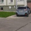 Россиянин зацементировал газон под личную парковку
