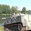 На брестском полигоне белорусские и российские десантники проводят учения