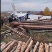 Момент крушения самолета с парашютистами в Татарстане попал на видео