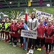 В Минске стартовал финальный этап республиканского турнира «Кожаный мяч»