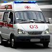 Легковушка не пропустила машину скорой помощи в Минске (Видео)