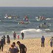 Жители сектора Газа провели акцию протеста в открытом море