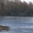 Из-за потепления на реках Беларуси тронулся лёд