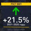 ВВП Беларуси вырастет на 21,5%, а доходы – на 20%. Проект программы социально-экономического развития страны представили в Минэкономики