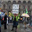 Экоактивисты заблокировали одну из центральных площадей Лондона