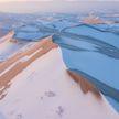 «Мороженое с шоколадной крошкой». В Саудовской Аравии выпавший снег засыпало песком (ВИДЕО)