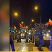Протестующие польские фермеры отправились в поход на Варшаву