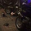 BMW сбил трёх подруг и со страшной силой врезался в фонарный столб