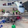Восстание машины в чикагском аэропорту: грузовик начал вращаться на месте (ВИДЕО)