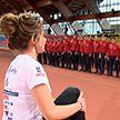 Соревнования по лёгкой атлетике проходят в лицее МВД