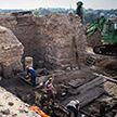 Старинный дом XIV века обнаружили на раскопках в Гродно