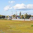 В Пинске начала цвести река (ФОТО)