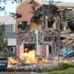 Торговый центр частично обрушился после взрыва газа в США