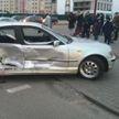 Такси столкнулось с легковушкой в Бресте: пострадали 10-летняя девочка и водитель