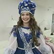 Мягкий лён, кружева и небесно-голубая вышивка. Первая красавица страны Мария Василевич готовится к конкурсу «Мисс мира» в Китае