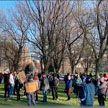 Антиковидная демонстрация переросла в стычки с полицией в канадском Монреале