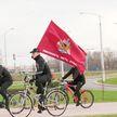 Столичные милиционеры организовали велопробег по случаю 35-й годовщины аварии на Чернобыльской АЭС