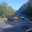 Страшное ДТП с участием элитных авто: на словацкой трассе столкнулись Ferrari и Porsche (ВИДЕО)