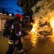 В Варшаве сгорел барак, в котором ночевали бездомные: все они погибли