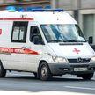 В Москве автобус с туристами из Китая врезался в столб: 15 человек пострадали