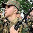 Присягу приняли  военнообязанные из запаса в трёх областях