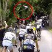 Экстремал перепрыгнул пелотон во время этапа «Тур де Франс» (ВИДЕО)