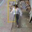 «Реально опасные типы». Наглое нападение на девушку заставило вздрогнуть пользователей соцсетей (ВИДЕО)