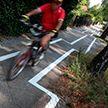 В Берлине появилась «пьяная» велодорожка, но скоро она исчезнет
