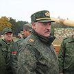 Александр Лукашенко ознакомился с современными образцами вооружения и военной техники белорусского производства