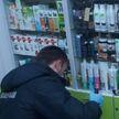 Пьяный мужчина разбил витрину аптеки в Мозыре