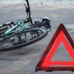 Велосипедист врезался в легковушку прямо на глазах ГАИ