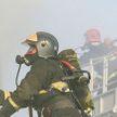 Пожар произошел в торговом центре Бреста