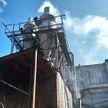 В Минске произошел пожар на мебельной фабрике на Кальварийской