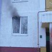 Четырех взрослых и двух детей спасли на пожаре в Мозыре