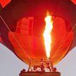 Воздушный шар загорелся и упал в Подмосковье