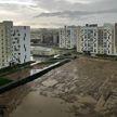 Ливень обрушился на Минск