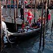 В Венеции после наводнения пересохли каналы – видео