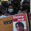 В Мьянме умерла женщина, раненная боевой пулей на протестах