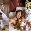 Папа четырех девочек показал настоящую сторону отцовства