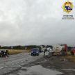 Около Мозыря в ДТП с участием трех авто пострадали четыре человека