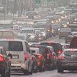 Утром из-за нескольких ДТП Минск застрял в 6-балльных пробках