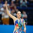Взяли серебро. Екатерина Галкина завоевала медаль в упражнении с обручем
