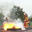 Прошел чемпионат Вооруженных Сил Беларуси по пожарно-спасательному спорту